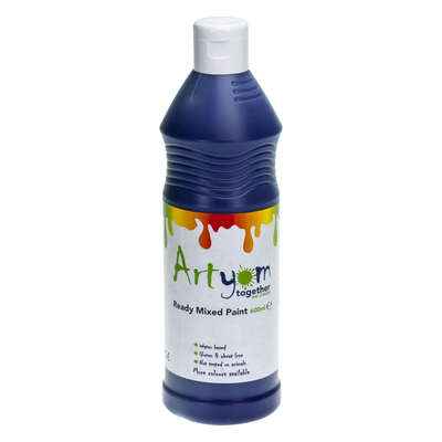 Ready Mixed Poster Paint 600ml - Colour: Purple