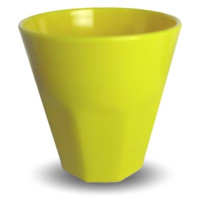 Gompels Super Tuff Fluted Tumbler 12 Pk - Colour: Yellow Fluted Tumblers