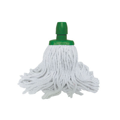 Soclean Cotton Twine Mop Head - Colour: Green
