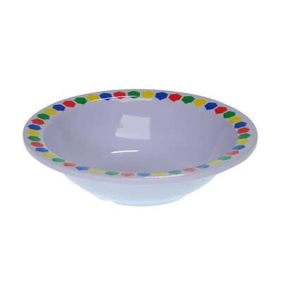 "Gompels Super Tuff Bowl 6"" / 150mm 12pk - Colour: Patterned"
