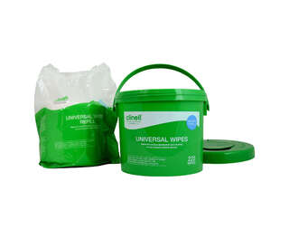 Clinell Universal Wipes Bucket Refill 225