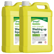 Gompels Premium Washing Up Liquid Lemon 5 Litre 2 Pack