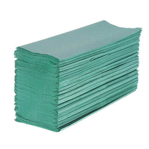 Z Fold Recycled Paper Hand Towel Green 1ply 6000
