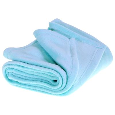 Pram Micro Fleece Blanket Mint 75 x 100cm