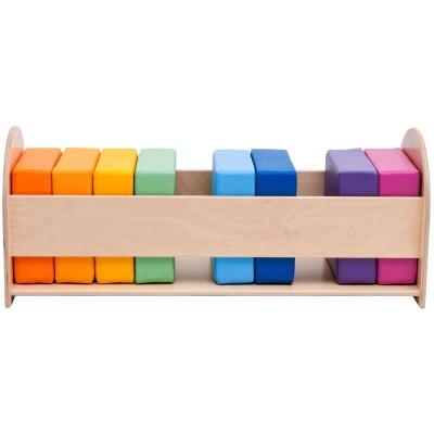 Rainbow Soft Cushion Set 10 Pack