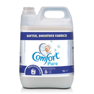 Comfort Pure Fabric Softener 5 Litre 2 Pack