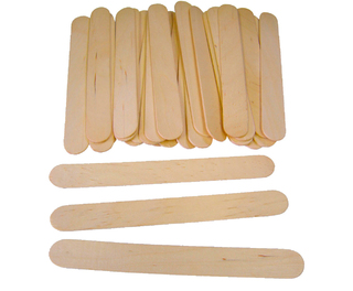 Gompels Natural Lolli Sticks Jumbo 100