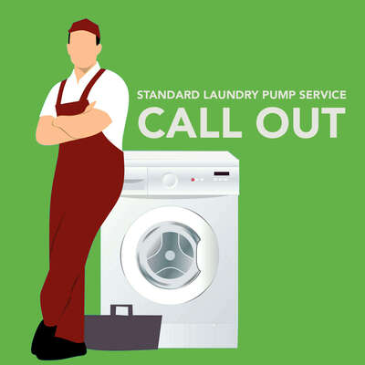 Standard Laundry Pump Service Call Out