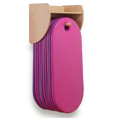 Wall Mounted Sleep Mat Unit With 10 Sleep Mats - Colour: Purple