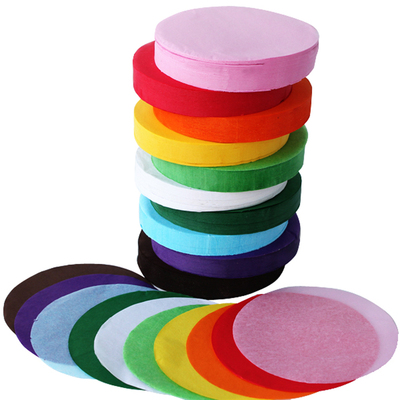 Tissue Paper Circles Assorted 10cm 4600 Sheets