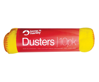 Dusters Yellow 10 Per Roll