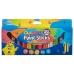 Paint Sticks Assorted Colours 12 Pack