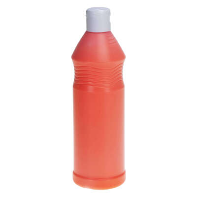 Ready Mixed Fluorescent Poster Paint 600ml - Colour: Orange
