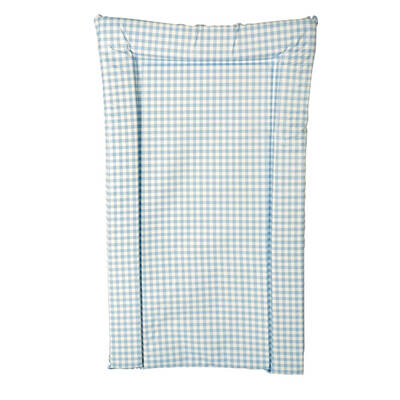 Changing Mat - Colour: Blue Gingham
