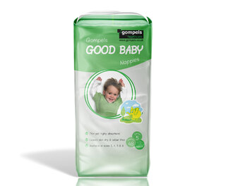 Gompels Baby Nappy Junior Size 5 11-25kg 48
