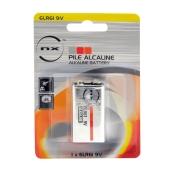 Size 9v Alkaline Battery