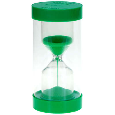 Sand Timers - Colour: Green 1 Min