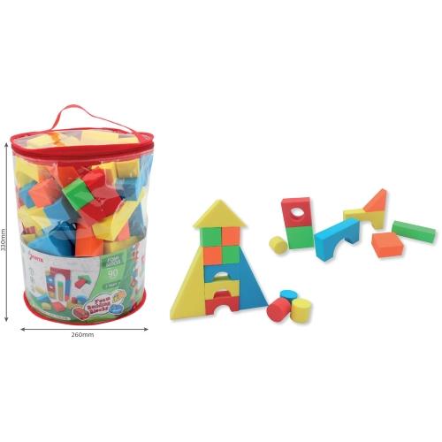 Foam Building Blocks 90pc In Arts Crafts Playtime
