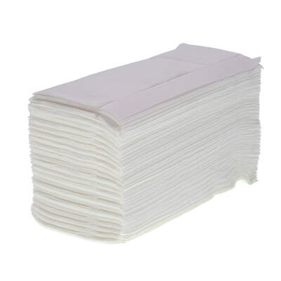 Z Fold White Paper Towels Pure 2ply 6072