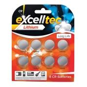 CR Batteries 8pk