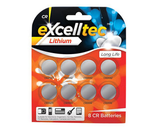 CR Batteries 8pk