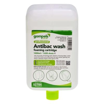 Soclean Antibacterial Foam Handwash 1000ml Cartridge 3 Pack