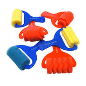 Assorted Foam Rollers 6 Pack
