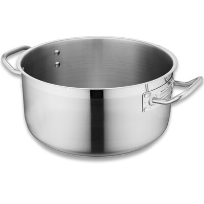 Casserole / Stew Pan Stainless Steel 280mm / 8l