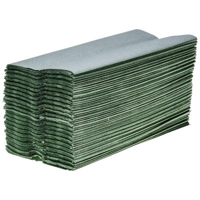 Soclean C Fold Green Paper Towels 1ply 2640