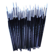Synthetic Sable Paint Brush Assorted Pack 50