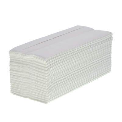 Soclean C Fold Flushable White Paper Towels 2ply 2430