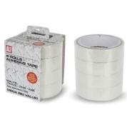 Adhesive Tape Rolls 24mm x 23m 4 Pk