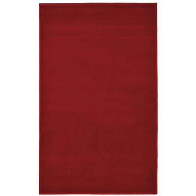 Plain Rug 120x170cm - Colour: Red