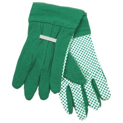 Childrens Gardening Gloves Pair Green