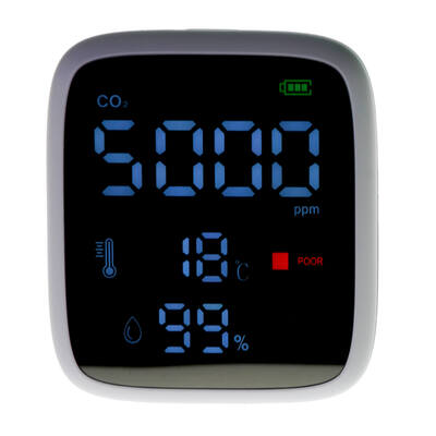 CO2 and Temperature Monitor
