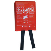 Fire Blanket 1m x 1m Red