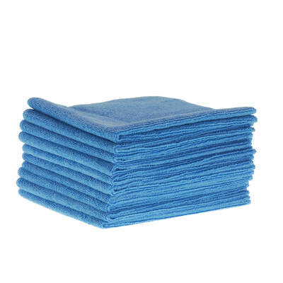 Soclean Microfibre Cloths 10 Pack - Colour: Blue