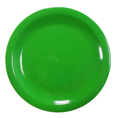 "Swixz Melamine Side Plate 6.25"" / 160mm 12 Pack - Colour: Green"