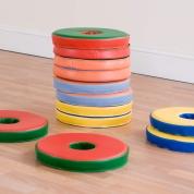 Bi Colour Doughnut Cushions 12 Pack