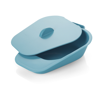 Female Slipper Urinal Pan With Handled Lid