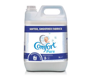 Comfort Pure Fabric Softener 2 x 5ltr
