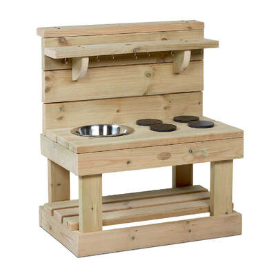 Wooden Mud Kitchen - Size: Small