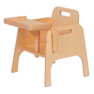 Wooden Sturdy Feeding Chair 140mm
