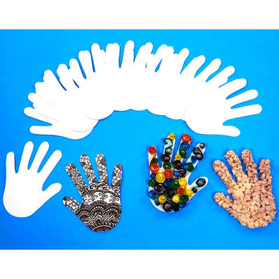 Paper Hands 100 Pack