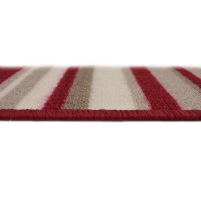 Door Mat and Runner 57x230cm - Colour: Red