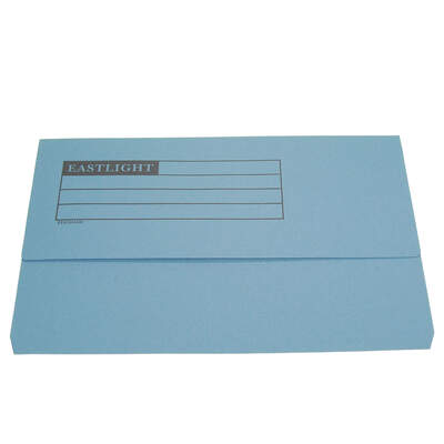 Document Wallet A4 - Colour: Blue