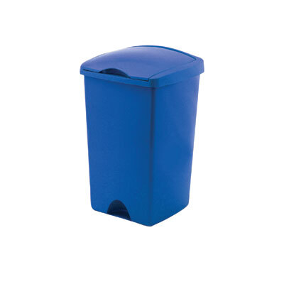 50 Ltr Lift Top Bin - Colour: Blue