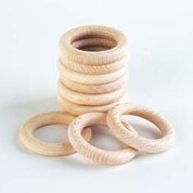 Beechwood Ring 48mm 10 Pack