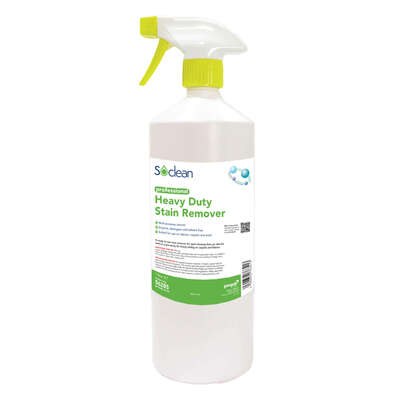 Soclean Heavy Duty Stain Remover 1 Litre 6 Pack
