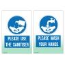 Buy 1 Get 1 Half Price Hand Wash/sanitiser Sign